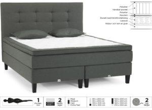 En continentalsäng eller kontinentalsäng från Viking Beds. Denna säng finns om fast och medium. Välj mellan olika bäddmadrasser.