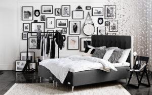 Sängen Malö från Carpe Diem har 20 års garanti på ram och fjäderbrott. Denna säng är en ramsäng som är lite extra hög.