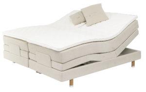 Saltö från Carpe diem är en så kallad ställbar eller justerbar säng. Du kan alltså höja och sänka huvud och fötter.