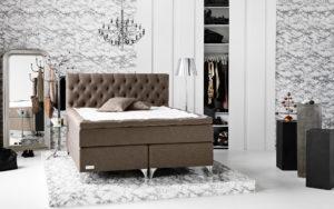 Följsam och svensktillverkad säng. Denna kontinentalsäng (continentalsäng) heter Skaftö och är från Carpe Diem. Du kan själv justera denna säng med en fjärrkontroll. Mittenpartiet går nämligen att justera så att den passar din kropp.
