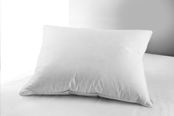 En svensktillverkad kudde från Värnamo Sängkläder. Kudden heter Blåklocka och finns i flera olika storlekar.