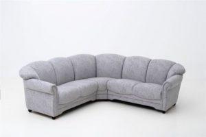 Fin byggbar soffa från Ermatiko. Soffan heter Malin och går att få i både tyg och skinn.