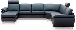 Multi från Hjort Knudsen. En soffa som du kan bygga som du önskar så att den passar ditt vardagsrum. Finns med sitsar i flera olika fastheter och med olika djup.