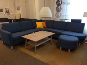 Byggbar soffa från Troels. Passion finns i både tyg och skinn. Du kan välja mellan sits i dun, pocket eller kallskum. Vissa tyger har vi nu 30% rabatt på.
