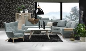 Fin soffa vid namn Passion. Passion är en byggbar soffa från Troels. Finns med sits i både dun, pocket och kallskum. Du kan just nu köpa soffan med vissa utvalda tyger till 30% rabatt.