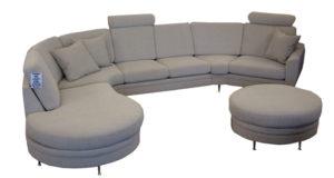 Fin byggbar soffa från Ermatiko. Soffan heter Rose och är byggbar. Du kan bygga soffan med divan öppet avslut eller som vanlig hörnsoffa eller 2 sits och 3 sits soffa.