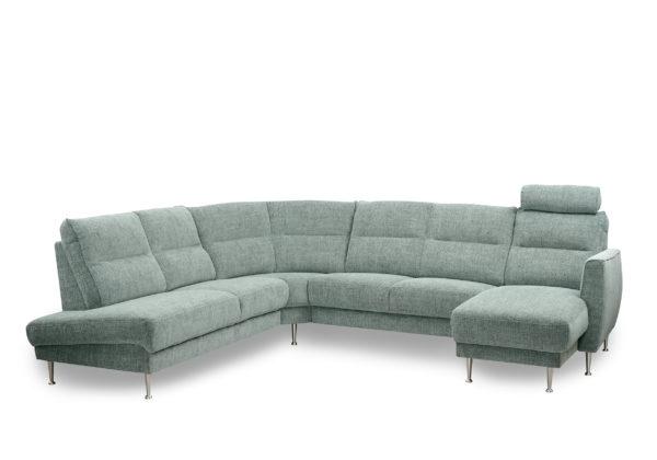 Byggbar soffa. Aroma är en soffa som går att bygga. Denna soffa kommer från Above. Välj mellan olika delar så som divan och öppet avslut, eller bygg en helt vanlig hörnsoffa.