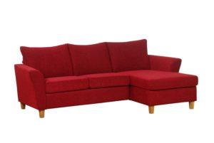 En byggbar soffa vid namn skgen. Soffan går att bygga som du vill så att den passar ditt rum. Du kan få soffan med eller utan divan eller öppet avslut.