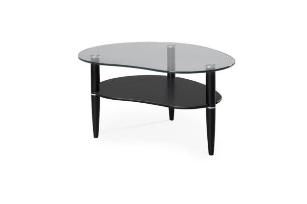 Ett fint bord från bordbirger. Detta soffbord har en skiva i glas. Ben finns i flera olika färger.