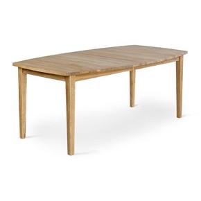 En fin matgrupp från Torkelsons. Här ser ni matbordet Allegro som går att kombinera med en stol i samma serie.