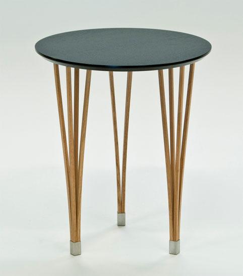 Ett bord från Signera som är svensktillverkat. Detta soffbord finns som runt, fyrkantigt och ovalt.