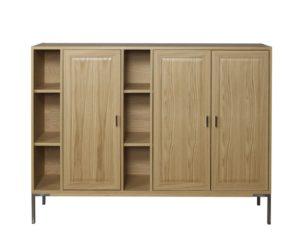 En bra byggbar serie där du kan bygga mediamöbler, vitrinskåp och bokhyllor. Du kan välja mellan lådor och dörrar.