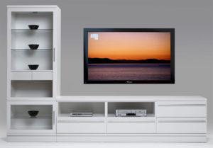 En fin bokhylla som är byggbar. Designa den så att den passar ditt vardagsrum.