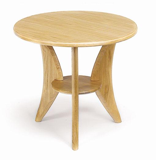 Ett fint soffbord. Detta soffbord finns i denna runda variant men också som ovalt soffbord.