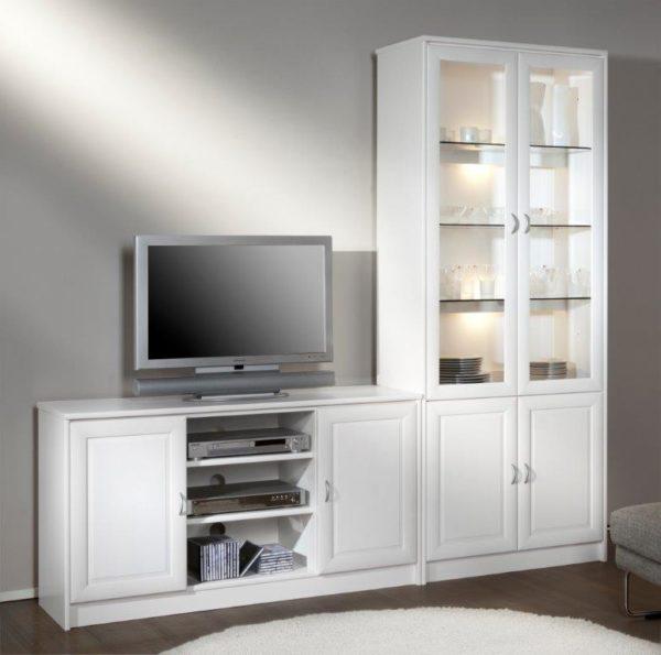 Fin byggbar bokhylla. Bygg som du vill och designa utseende själv. Välj mellan lådor, luckor och hyllor.