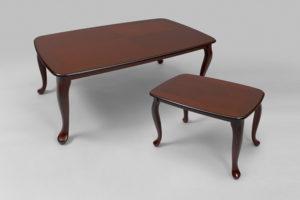 Ett fint bord från Bordbirger. Detta soffbord heter Rut och finns i körsbär, mahogny, valnöt.