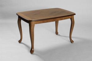 Soffbordet Rut från Bordbirger. Bordet finns i flera utföranden då det även finns som lampbord. Välj mellan körsbär, mahogny, valnöt.