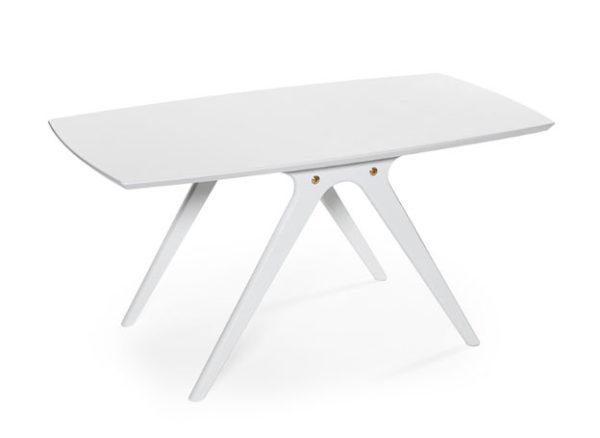 Ett fint bord till vardagsrum. Soffbordet finns i färgerna ek, rökt ek/svart, svartbetsad ek och vitlack.