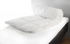 Ett täcke som är både svensktillverkat och ekologiskt från Värnamo sängkläder. Täcket finns som svalt och varmar.