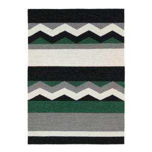En fin matta i flatvävd ull som finns i storlekarna 140x200, 160x230, 200x290 cm. Mattan går att få som grön, rosa och gul.