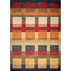 Snygg matta i ull. Mattan är handvävd. Finns i storleken 133x190, 160x230 cm. Från Strehög.