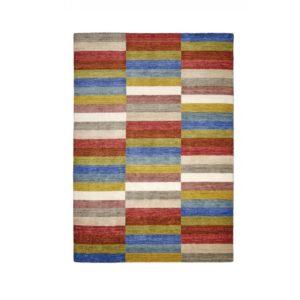 En fin matta som finns som rund matta och matta till vardagsrum. Mattan är handvävd ull. Finns i storlekarna 60x90, 80x200, 130x190, 160x230, 200x290 cm. och Ø100 cm.
