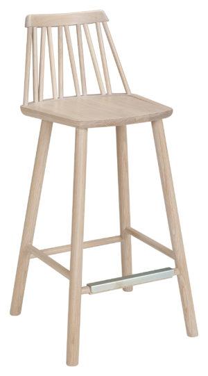 Barstol som passar till barbordet ur samma serie. Serien är zig zag från Hans K. Bra matgrupp.