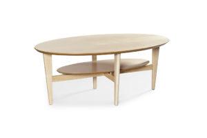 Soffbord som passar bra i vardagsrummet. Finns i flera träslag.