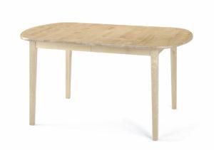 Matbordet kalmar från Torkelson som ingår i en matgrupp där det också finns tillhörande stol. Allt i björk.