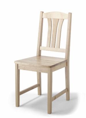 En stol från Torkelson. Är en del av en matgrupp, så tillhörande bord finns.