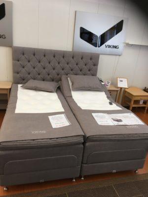 Justerbara sängen Birka. Bra rabatt nu då den är på rea. Finns i fast och medium, bäddmadrass och ben ingår.