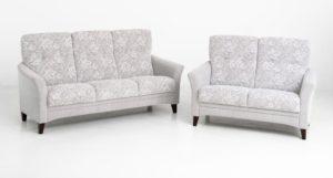 Soffa från Ermatiko. Denna soffa heter Anne och finns i både skinn och tyg. Du kan få soffan som 2 sits soffa, 3 sits soffa och hörnsoffa.