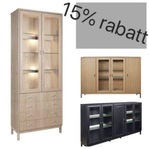 15% på byggbara hyllorna Regal och Hinrik från Rotola Pukkila.