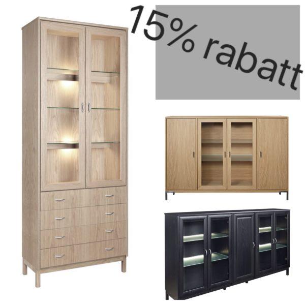15% på byggbara hyllorna Regal och Hinrik från Rotola Pukkila