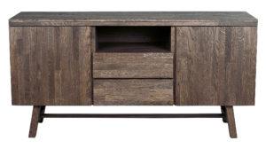 Ett sideboard från Rowico vid namn Brooklyn. Detta sideboard har två lådor och två dörrar. Finns i färgerna brun, vitpigmenterad ek och ek.