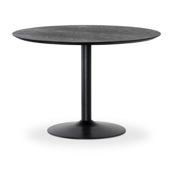 Fint runt bord från Torkelson vid namn Miles. Bordet finns som soffbord och matbord. I både svart och betonglaminat.