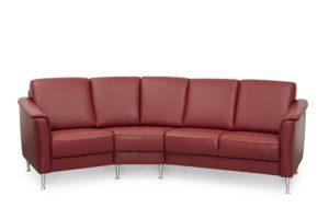 Byggbar soffa från Above vid namn Fika. Finns i skinn och tyg.