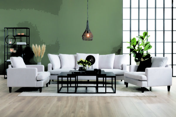 Byggbar djup soffa vid namn London. Soffan är från Troels och går att få i tyg och skinn. Välj mellan dun eller kallskum i sits och rygg. Finns även som fåtölj.
