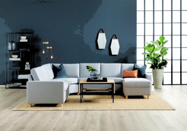 London byggbar soffa. London är en soffa från Troels som finns som hög soffa, låg soffa och djup soffa.