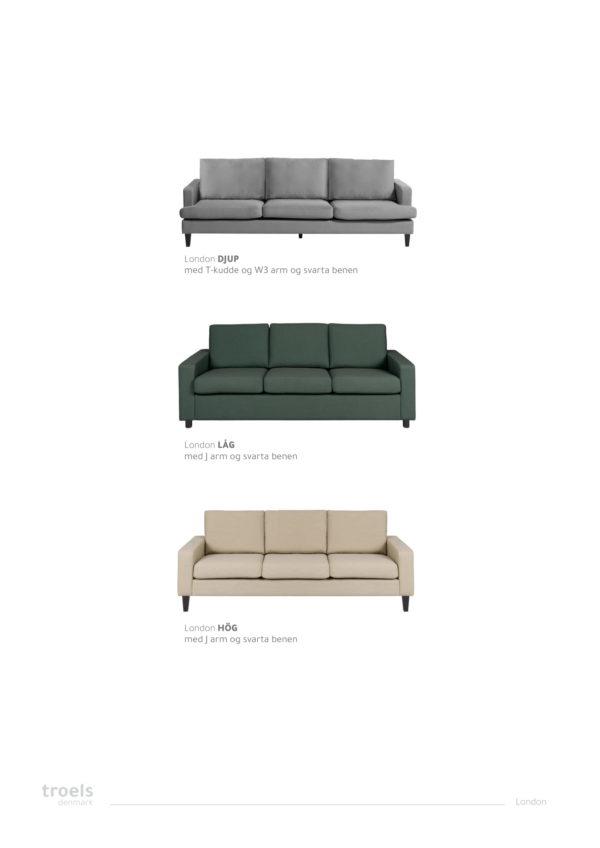London en byggbar soffa från Troels. London finns i modellerna hög, låg och djup.