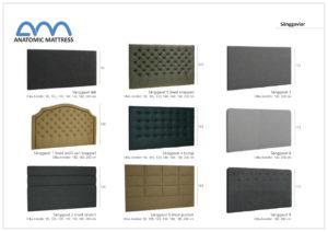 Gavlar i tyg från Ermatiko som går att beställa i flera olika tyger och bredder. Välj mellan 90, 105, 120, 140, 160, 180 och 200 cm. Gavlarna passar till alla sängar. Du kan välja slät gavel, gavel med knappar, gavel med rutor mm.