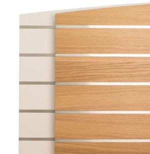 Gavel från CS möbler. Denna gavel heter Tilda är i trä och finns i storlekarna 90 och 180 cm. Finns i ek och vit.