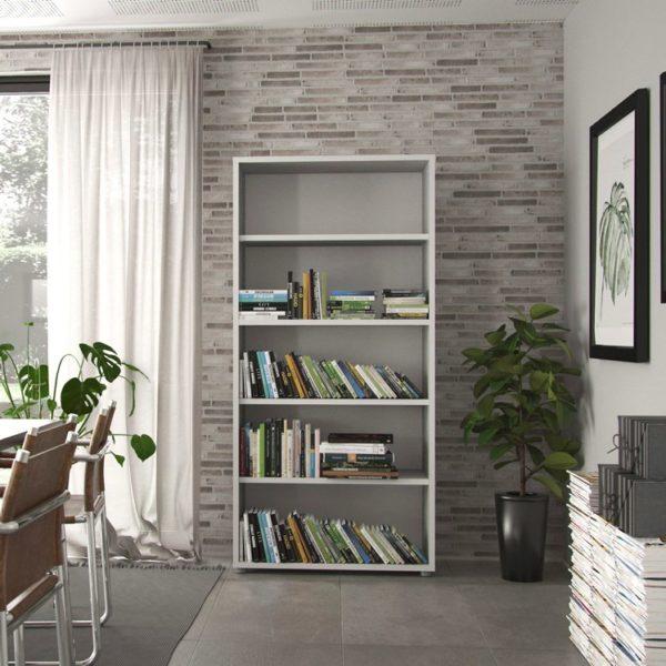 En bokhylla från Tvilum vid namn Prima. Denna bokhylla finns som hög bokhylla och låg bokhylla. Välj mellan 4 eller 2 hyllor. Båda är i vitt.