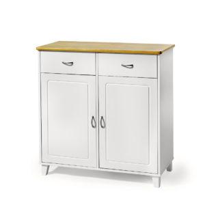 Boden är en serie från Torkelson. I serien ingår olika möbler till kök. Det finns smal buffé, bred buffé, vitrinskåp och hörnskåp med vitrin.