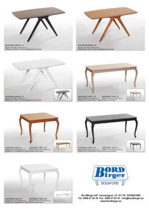 Fint soffbord från Bordbirger. Soffbordet Tvist är svensktillverkat. Just nu är det på rea. Finns endast i rökt ek.