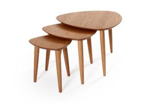 Team är en serie soffbord och fåtöljbord som är tillverkade i sverige. I serien ingår bord i flera olika storlekar. Välj mellan bord i ek, rökt ek, svartbetsad ek, vitpigmenterad ek och vitlack.