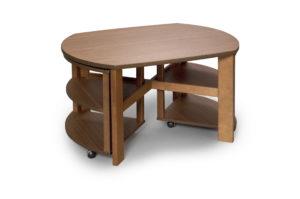 Rea. Fint svensktillverkat soffbord vid namn Turin. Turin är tillverkat av Bordbirger. Finns endast i ek.